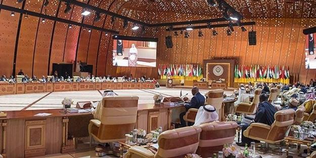 Arap Birliği zirvesinden kınama çıktı