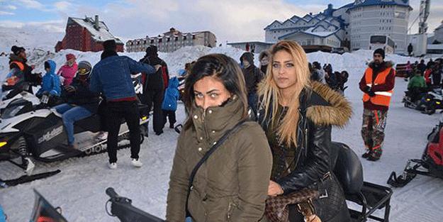 Arap turistler akın ediyor! Saati 200 lira… İzdiham oldu