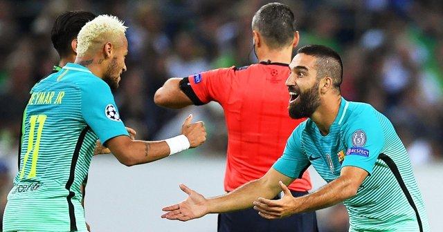 Arda Turan'ın gol sevinci, 'Elhamdülillah'