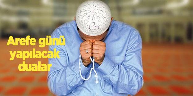 Arefe günü duası nedir?