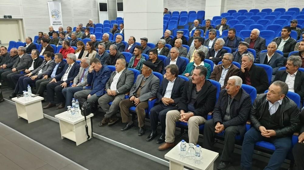 Arguvan Doğal Tarımsal Kalkınma Kooperatifi kongresi yapıldı