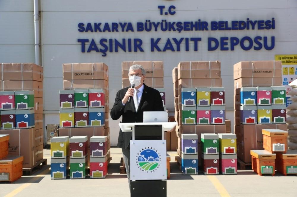 Arı sütü Sakarya'da üretilecek