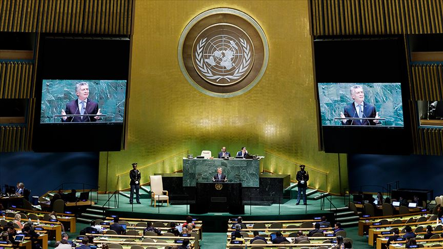 Arjantin Devlet Başkanı Mauricio Macri: Dünyanın tehdit değil fırsat olduğu inancıyla çalışıyoruz