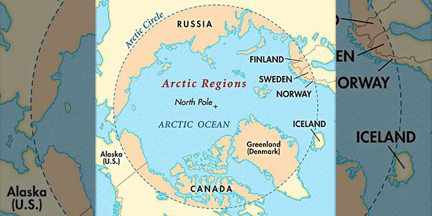 Arktika'da sular ısınıyor!