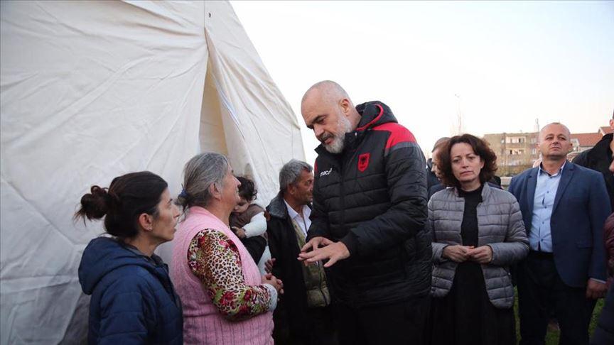 Arnavutluk Başbakanı Edi Rama: Türkiye'nin yardımları hiçbir zaman unutulmayacak