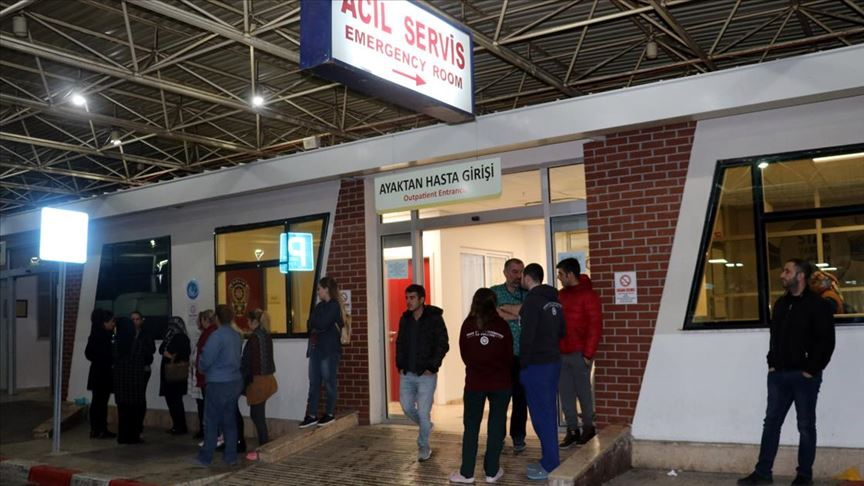 Arnavutluk'taki depremde yaralanan Türk vatandaşı Kılınçpınar ambulans uçakla İzmir'e getirildi