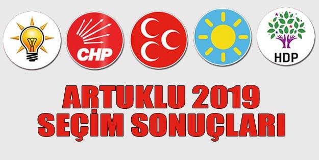Artuklu seçim sonuçları 2019 | Mardin Artuklu 31 Mart seçim sonuçları oy oranları