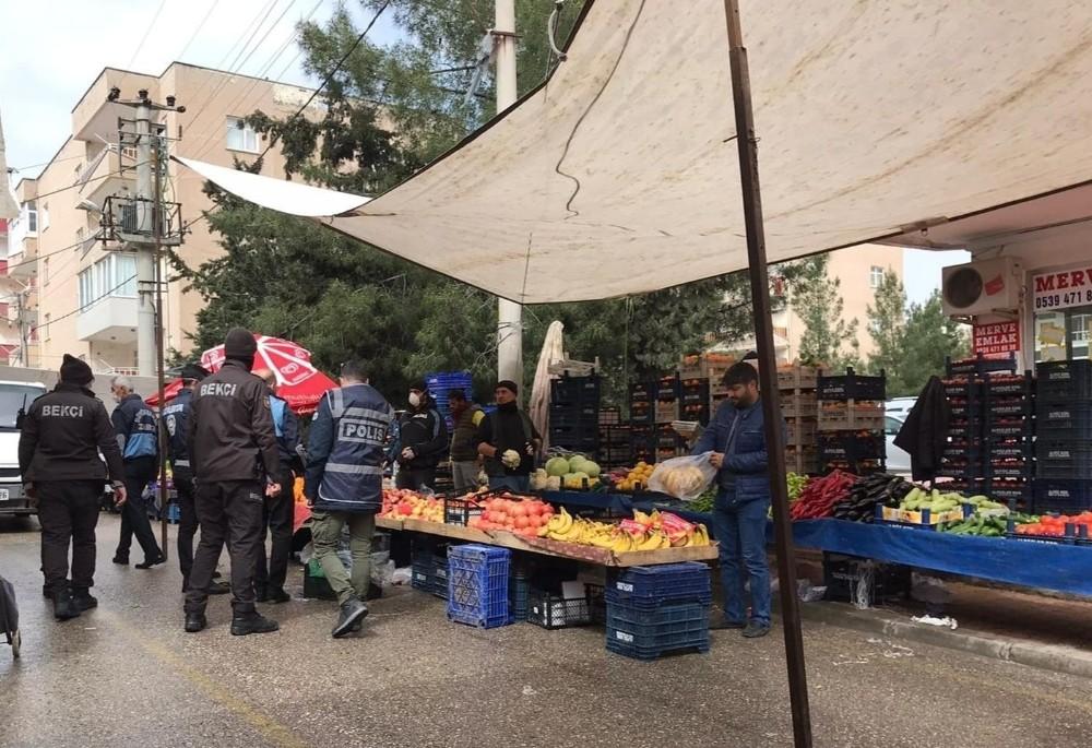 Artuklu'da pazar yerleri denetlendi