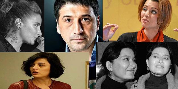 Aşağı bakmayacağız yalanına sığınan sözde sanatçılar PKK'ya sus pus oldu