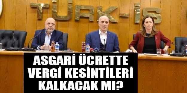 Asgari ücret zam son dakika Türk-İş, Hak-İş ve DİSK'ten flaş asgari ücret çağrısı