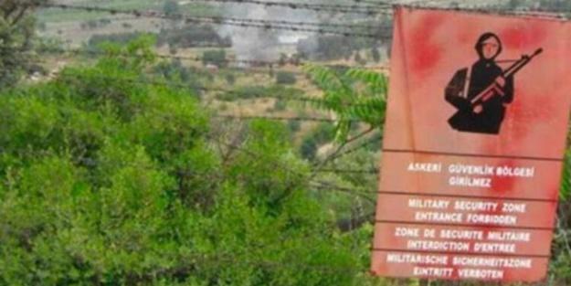 Askeri yasak bölgede ceset bulundu