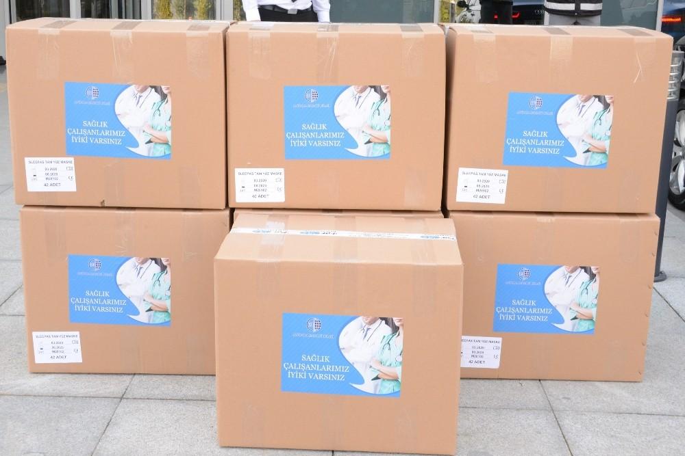 ASO'dan Şehir Hastanesine maske desteği