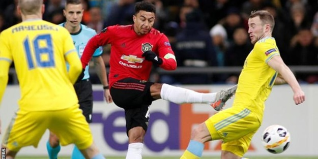Astana Manchester United maçı kaç kaç bitti?