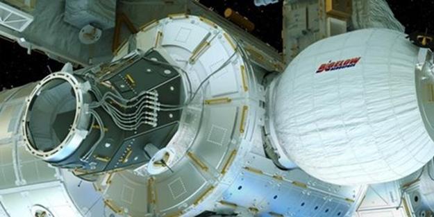 Astronotlar için yaşam alanı oluşturuldu