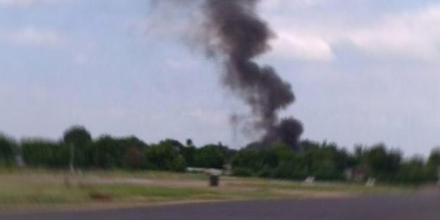 Asya ülkesinde uçak düştü! 7 ölü