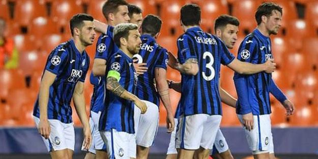 Atalanta çeyrek final biletini aldı