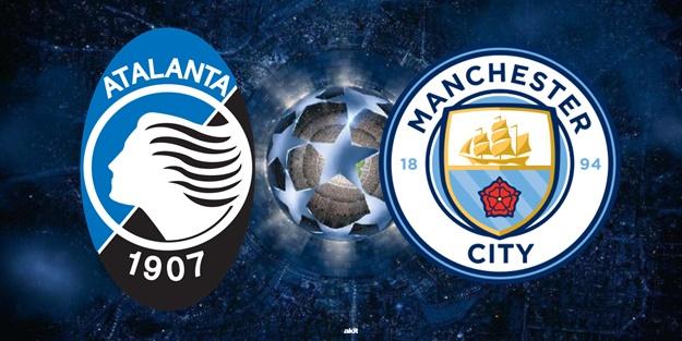 Atalanta Manchester City maçı ne zaman saat kaçta hangi kanalda?