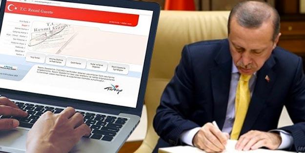 Atama kararları Resmi Gazete atama kararları son dakika
