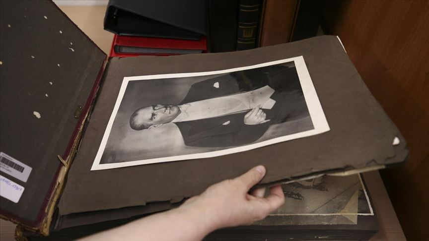 Atatürk'ün cenaze fotoğrafları Milli Kütüphane arşivinde
