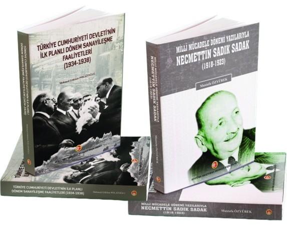 Atatürk Araştırma Merkezinden iki yeni eser