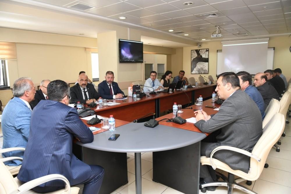 Atatürk Üniversitesi Meteoroloji Genel Müdürlüğü ile iş birliği için ön görüşme yaptı