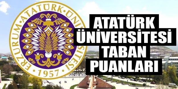 Atatürk Üniversitesi taban puanları 2019