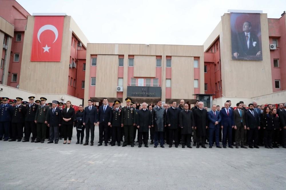 Atatürk'ün Mardin'e gelişinin 104'üncü yılı törenle kutlandı