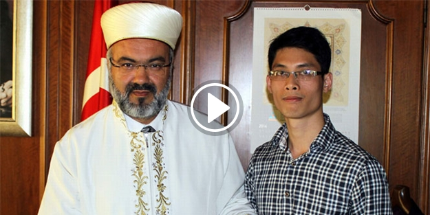 Ateist genç İslam'ı seçti