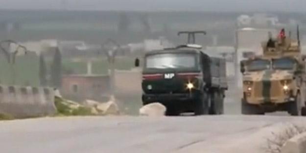 Ateşkes sonrası İdlib'den ilk görüntü