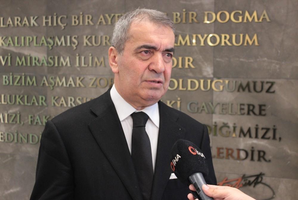 Atılım Üniversitesinde Prof. Dr. Saygılıoğlu, Covdi-