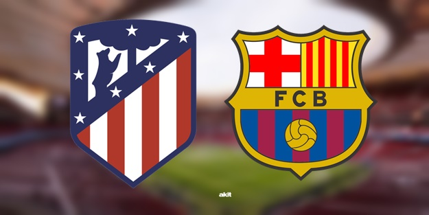 Atletico Madrid Barcelona maçı ne zaman? Maç saat kaçta hangi kanalda? La Liga 15. hafta