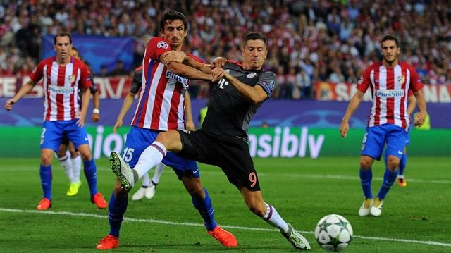 Atletico Madrid Bayern Münih'i 1-0 geçti