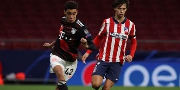 Atletico Madrid, Bayern'i dize getiremedi