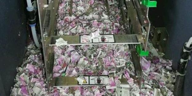 ATM'YE GİREN FARELER YAKLAŞIK 9 MİLYON TL'Yİ YEDİ!