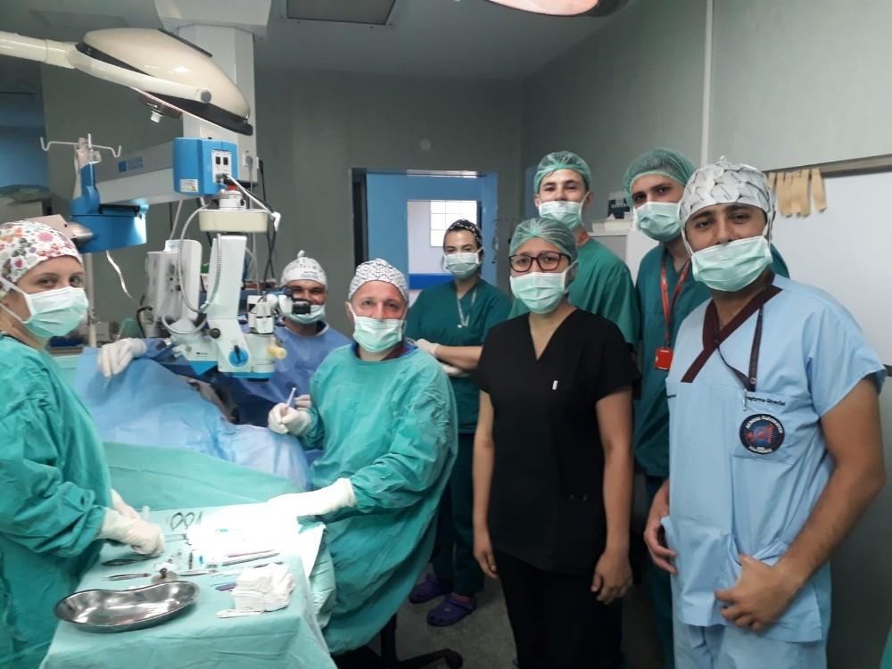 AÜ'de bir ayda 22 kornea nakli yapıldı
