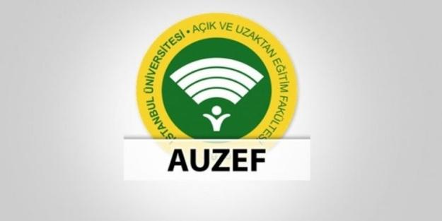 AUZEF 2021 güz yarıyıl ara sınav merkezi tercihleri