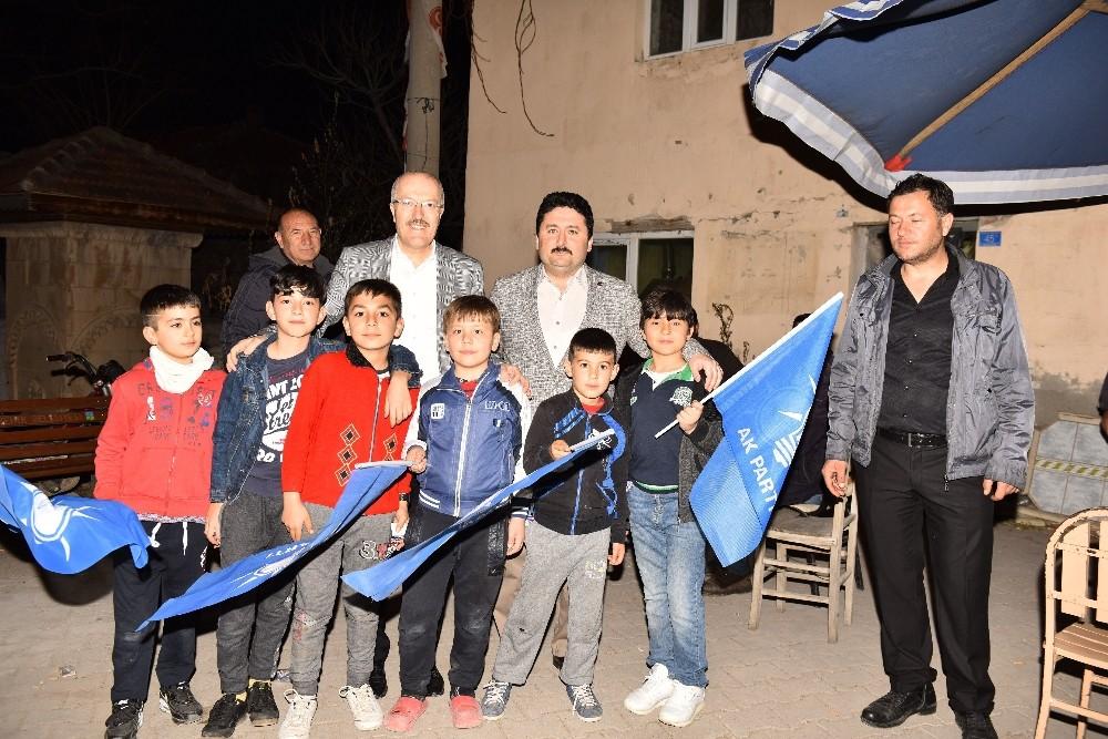 Avcı'dan Nergiz'de coşkulu miting