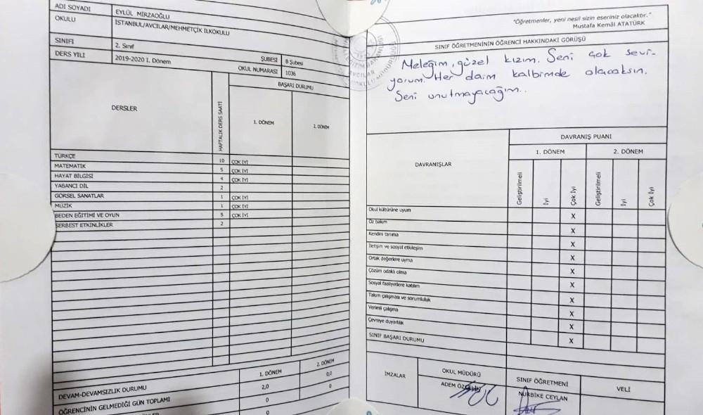 Avcılar'da okulda servisin çarpmasıyla ölen minik Eylül'ülün babası: