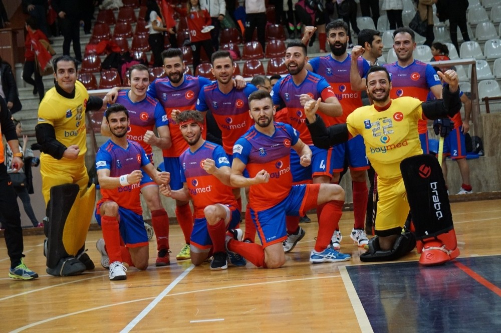 Avrupa Şampiyonası'nda Gaziantep Polisgücü doludizgin