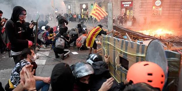 Avrupa ülkesi yangın yerine döndü! Olaylar ülke geneline yayılıyor