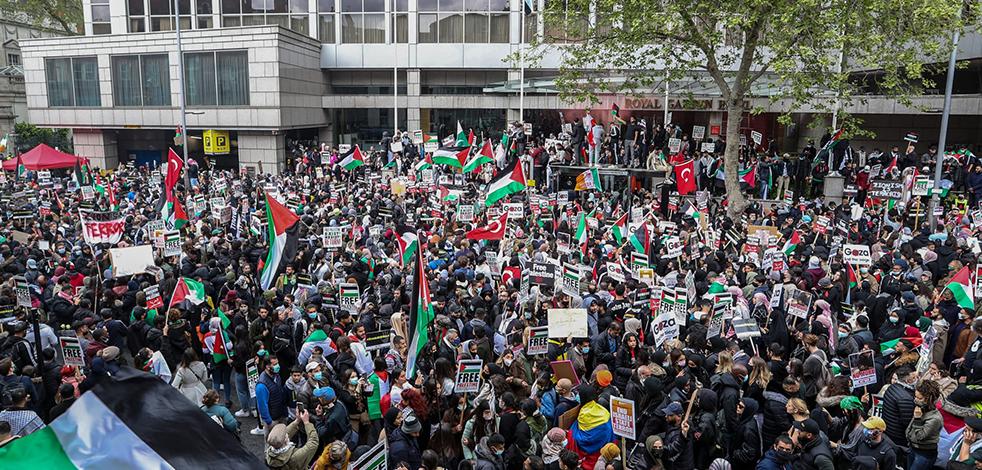 Avrupa'da İsrail'e lanet yağdı