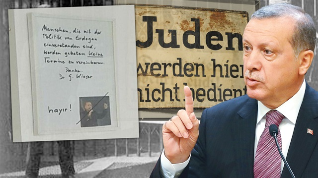 Avrupa'da Nazizim 80 yıl sonra Erdoğan'a karşı hortladı