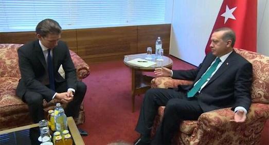 Avusturya Dışişleri Bakanı yine 'Erdoğan'ın arkasından konuştu