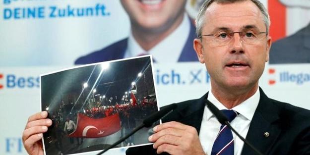 Avusturya'da aşırı sağcı siyasetçiden skandal Türkiye çağrısı