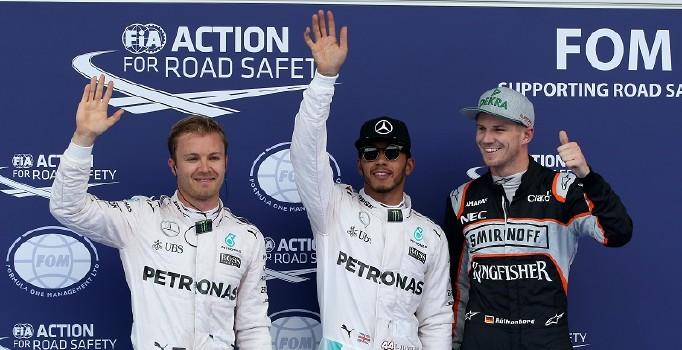 Avusturya'da pole pozisyonu Lewis Hamilton'ın