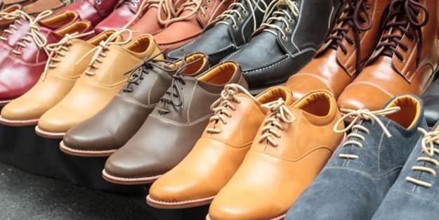 Ayakkabı üzerindeki lekeler...