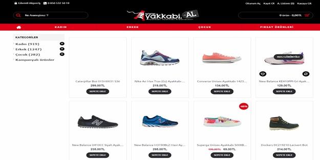 Ayakkabının Yeni Adresi www.Ayakkabi.al