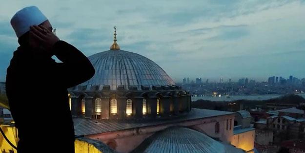 Ayasofya Camii'nde yıllar sonra ilk iftar ezanı