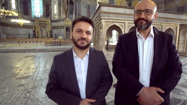 Ayasofya Camii'nin imam ve müezzini konuştu
