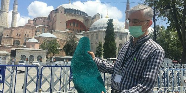 Ayasofya ile ilgili çarpıcı detay! Erdoğan böyle müdahale etmiş